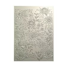 3D Embossing Folder Chrysanthemum Field Flowers Floral Memory Box Folders