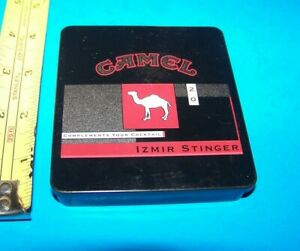Camel Cigarette Tin Izmir Stinger Complete Your Collection Today Ebay