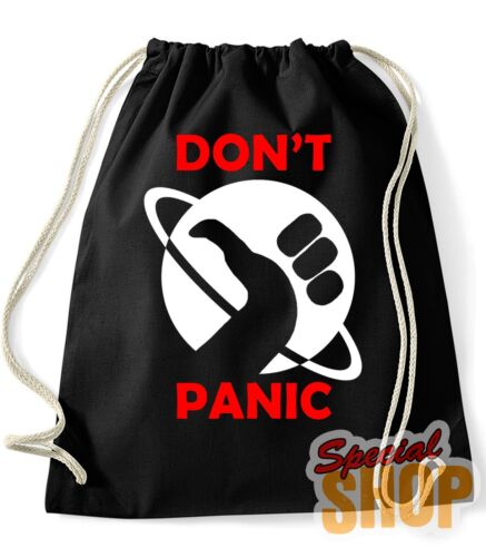 Backpack Bag the HITCHHIKER COMPLETO Guide to Galaxy Don/'T Panic