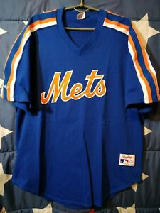 info for 370ed ad806 Details about Size 48 New York Mets USA Baseball Shirt Jersey Rawlings-  show original title