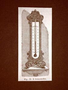 Incisione-del-1875-Invenzione-Il-termometro