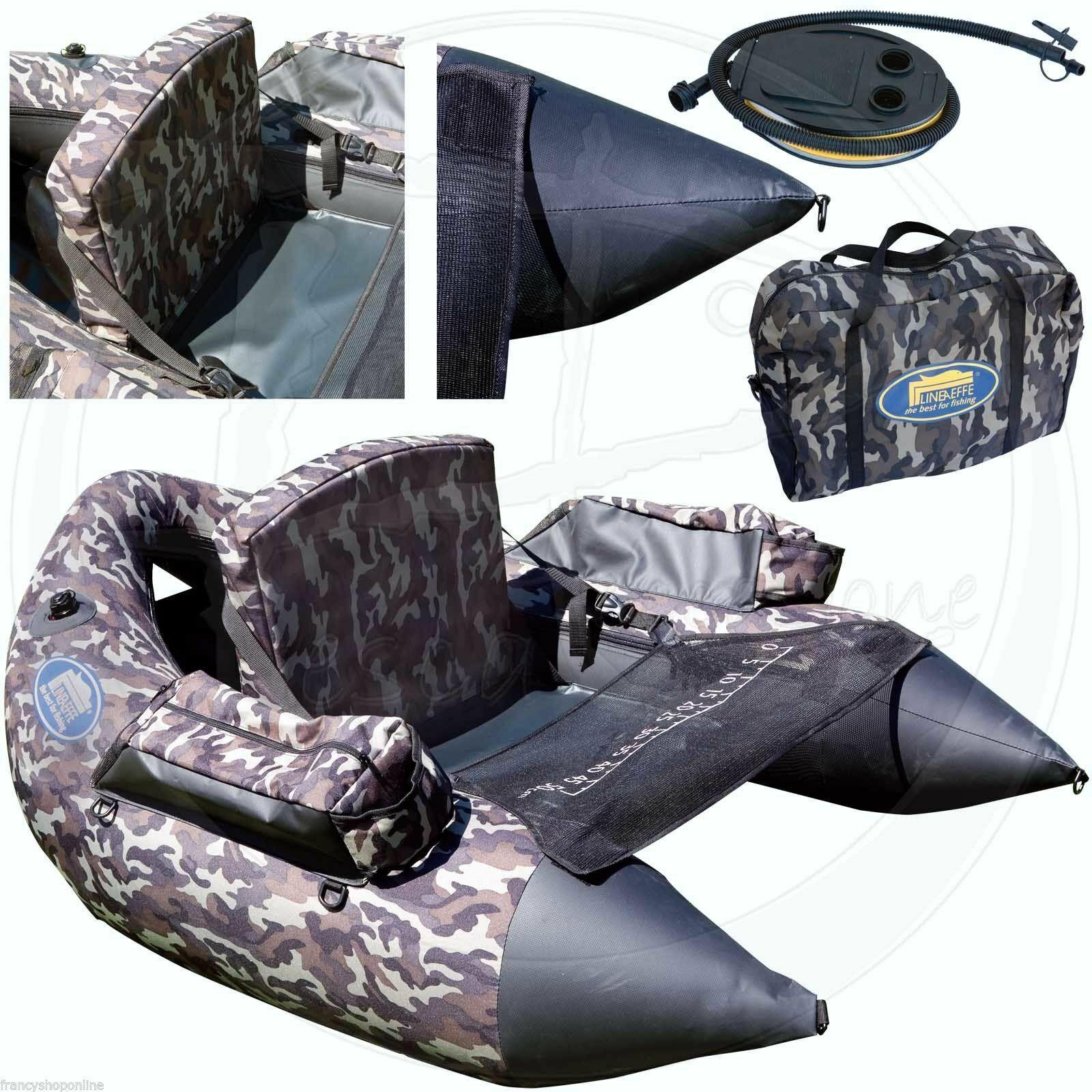 Belly boat xxl pesca luccio boccalone tessuto oxford porata 140 kg