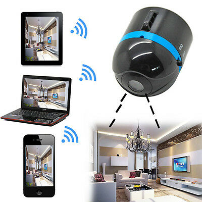 For iPhone Android Phone Mini Wifi Remote Cam IP Wireless Surveillance Camera