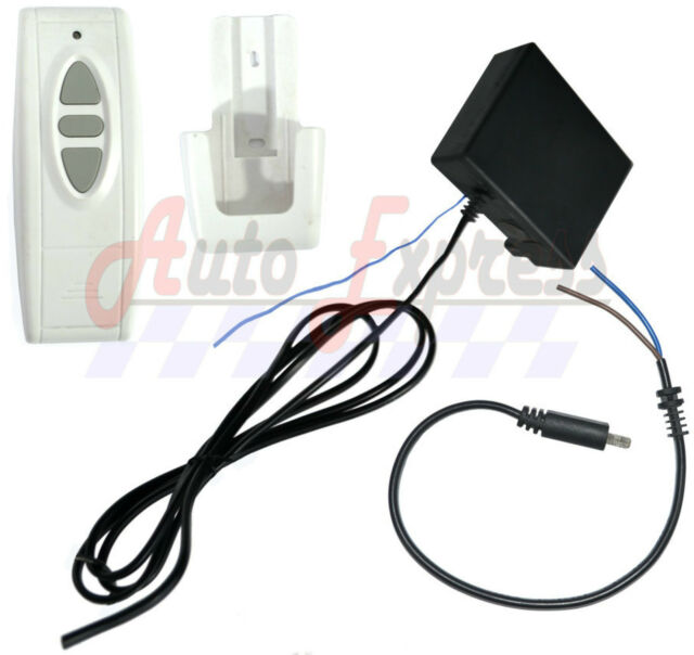 NEW Wireless Remote Control Wiring and Switch Kit for 1 Linear Actuator
