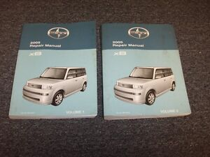 2005 scion xb wagon workshop shop service repair manual book set rh ebay com 2005 scion xa repair manual pdf 2005 scion tc repair manual pdf