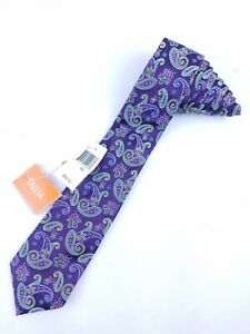 Tallia-Purple-Neck-Tie-New-With-Tags-NWT-MSRP-59-50