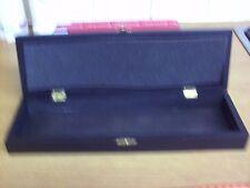 black wooden storage box