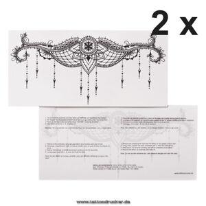 2 x typb underboob tattoo sexy sternum unter brust tattoo under breast 2 ebay. Black Bedroom Furniture Sets. Home Design Ideas