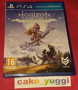 HORIZON-ZERO-DAWN-COMPLETE-EDITION-SONY-PS4-NEUF-SOUS-BLISTER-VERSION-FRANCAISE