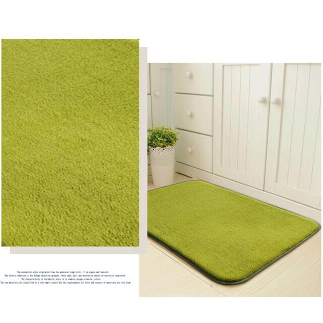 Soft Door Pad Simple Bedroom Home Easy Clean Floor Mat Washable Water Absorb