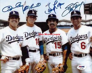 Dodgers-Infield-Steve-Garvey-Ron-Cey-Davey-Lopes-autographed-8x10-photo-RP