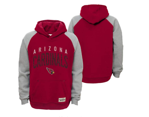 """Outerstuff NFL Youth Arizona Cardinals /""""Foundation/"""" Hoodie"""