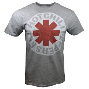RED-HOT-CHILI-PEPPERS-Men-S-M-L-XL-Tee-T-Shirt-Mens-Vintage-Rock-Band-Logo-NEW