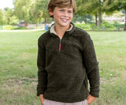 Kid/'s Southern Marsh Youth Appalachian Pile Sherpa Pullover