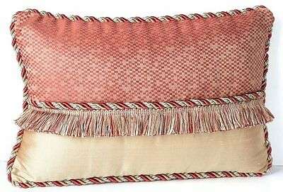 "Waterford Hamilton 12"" x 18"" Decorative Pillow Cinnamon Rope"