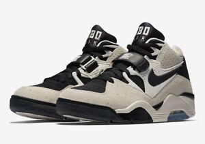 factory price 05632 8bf19 Nike Air Force 180 # 310095 101 Charles Barkley Sail & Black Men SZ ...