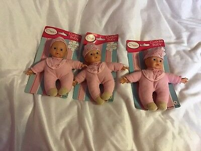 "3 X 8"" Coccolare Baby Dolls-"