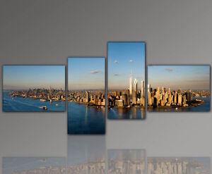 DESIGNBILDER-WANDBILD-City-New-York-abstrakt-Wohnzimmer-Kunst-155x60cm