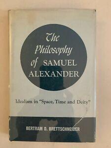 The-Philosophy-of-Samuel-Alexander-by-Bertram-D-Brettschneider-HC-VTG
