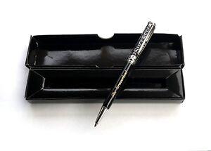 Premium-Metall-Kugelschreiber-Kuli-Kulli-SCHWARZ-mit-Ihrer-Diamant-Gravur-OVP