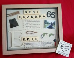 Image is loading GRANDAD-BIRTHDAY-GIFT -PERSONALISED-PICTURE-FRAME-GRANDPA-POPS-
