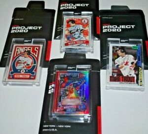 Topps-PROJECT-2020-Card-325-2011-Mike-Trout-by-Gregory-Siff-FOIL-SP-WITH-BOUNS