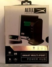Altec Lansing Smart Multi-Port Power Hub 35w 5 Charging Ports USB Android Apple
