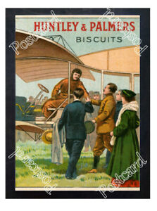 Historic-Huntley-amp-Palmers-Biscuits-1910s-Advertising-Postcard