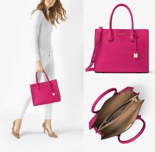 7431610b8275 item 6 NWT MICHAEL MICHAEL KORS MK Mercer Large Leather Tote Ultra Pink  -NWT MICHAEL MICHAEL KORS MK Mercer Large Leather Tote Ultra Pink
