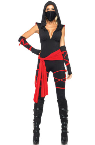 Deadly Ninja Samurai Adult Halloween Costume