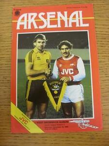 15121984 Arsenal v West Bromwich Albion  Good Condition - <span itemprop=availableAtOrFrom>Birmingham, United Kingdom</span> - Returns accepted within 30 days after the item is delivered, if goods not as described. Buyer assumes responibilty for return proof of postage and costs. Most purchases from business s - Birmingham, United Kingdom