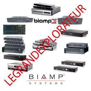 ultimate biamp owner repair service schematics manuals pdfs rh ebay com Biamp Nexia Biamp a Speaker