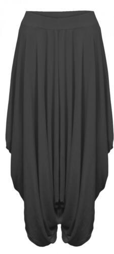Ladies Womens Gathered Draped Baggy Harem Pants Trousers Lagenlook Alibaba