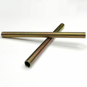 2-Stk-Gewinderohr-Set-Fer-Acier-Zingue-M10x1-X-140mm-Longueur