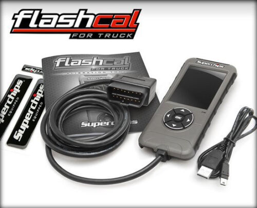 New 2545 Superchips Flashcal F5 Programmer fits 99-16 Chevy GMC Silverado Sierra