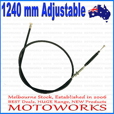 1240 mm Clutch Cable For PIT PRO Trail Dirt Quad Bike ATV Dune Buggy GoKart