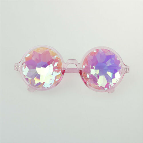 Round Kaleidoscope Sunglasses Women festival Glasses Men Holographic Glasses ÉÉ