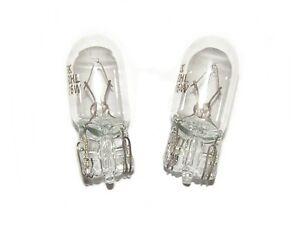 2-x-Glassockellampe-W3W-oder-W5W-12V-3W-bzw-5W-KFZ-Lampe-Gluehlampe-Standlicht