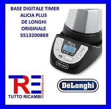 BASE DIGITALE TIMER ALICIA PLUS DE LONGHI ORIGINALE 5513200869