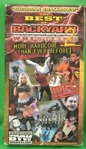 The Best of Backyard Wrestling 2 VHS Vol 2 | eBay