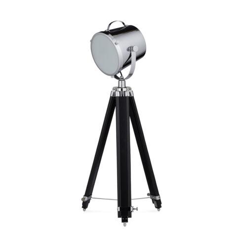 Stehleuchte Tripod Lampe Scheinwerfer Strahler Dreifuß Standlampe Leuchte Design
