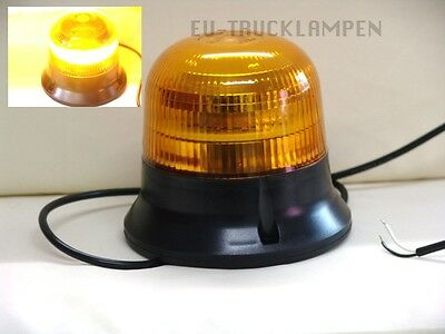 UNI FÜR 12-55 VOLT 145mm LED RUNDUMLEUCHTE WARNLEUCHTE E-ZULASSUNG