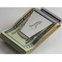 Hot Newest Slim Steel Money Clip Double Sided Credit Card Holder Wallet