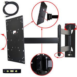 Full-Motion-TV-Monitor-Wall-Mount-26-28-29-32-39-40-42-034-LCD-LED-Tilt-Bracket-M84