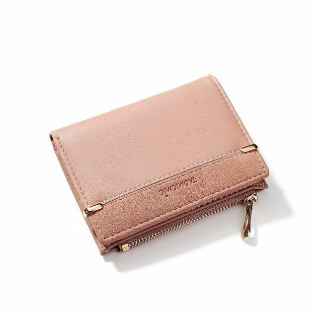 New Women Lady Thin Tri-fold Multi-Card Lady Wallet Purse Card Holder Case Gift