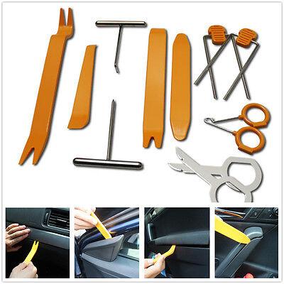 12 Pcs Professional Car Auto Door Clip Panel Trim Audio Dismantle Installer Tool