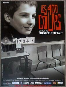 Les 400 coups affiche cin ma movie poster fran ois truffaut ebay - Cinema les 400 coups villefranche ...