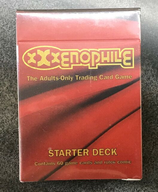1996 XXXenophile TCG Starter Adult Trading Card Game Factory Sealed