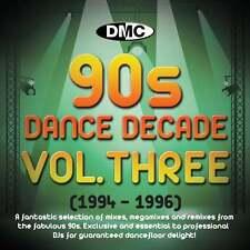 DMC Dance Decade Vol 3 1994 - 1996 Hits of the Nineties Mixes DJ CD Megamixes
