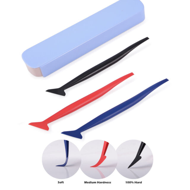 Tuck Tool Fiber Micro Gasket Squeegee Flex Seamlessly Window Tint Vinyl Wrapping